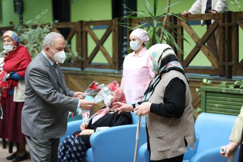 Başkan Demirtaş'tan anlamlı ziyaret