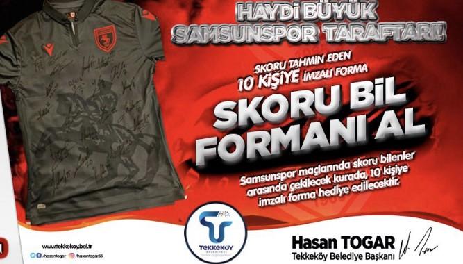 Samsunspor-Balıkesirspor Skor Tahmini Yarışması