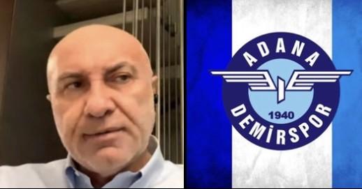 Yüksel Yıldırım'dan Adana Demirspor Açıklaması