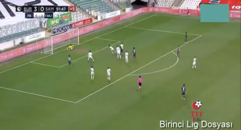 İlk Maç Bursaspor-Samsunspor 3-0