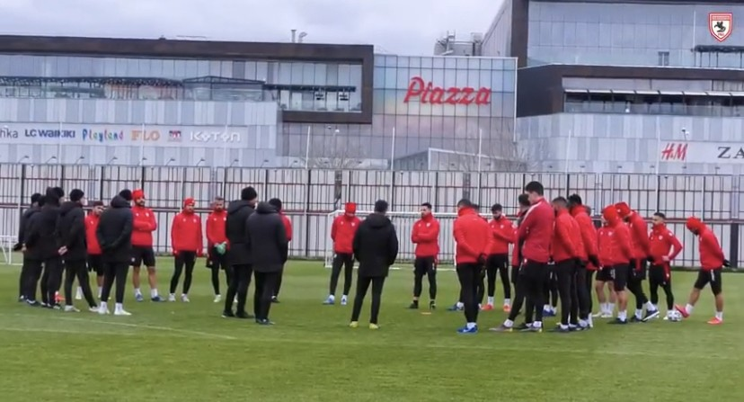 Samsunspor'da Futbolcular İdmana Çıkmadı