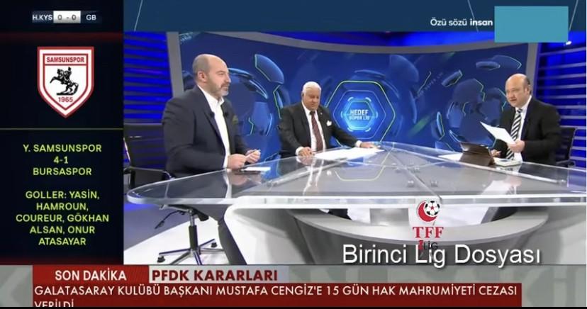 Trtspor Ekranlarında Samsunspor ve Şampiyonluk Yorumları