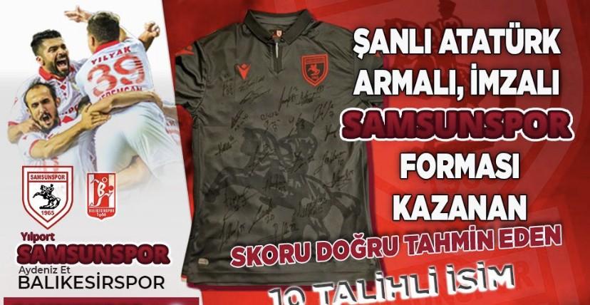 Samsunspor'un İmzalı Formasını Kazananlar Belli Oldu