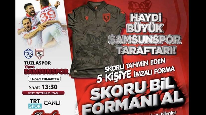 Başkan Hasan Togar'dan İmzalı Samsunspor Forma Kampanyası