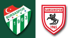 Samsunspor-Bursaspor Eksikler