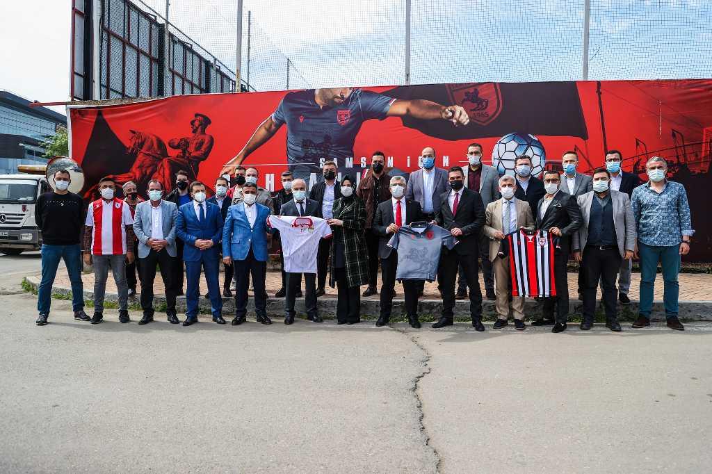 AK Parti Samsun'dan Samsunspor'a destek kampanyası