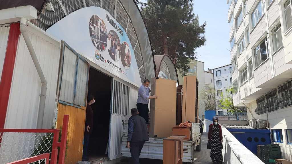 Samsun'da biriktirme sende paylaş kampanyası