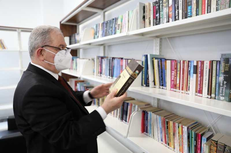 Başkan Demirtaş, Belediye Halk Kütüphanesi için kampanya başlattı