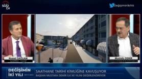 Başkan Demir, Projeleri ve yatırımları tek tek anlattı