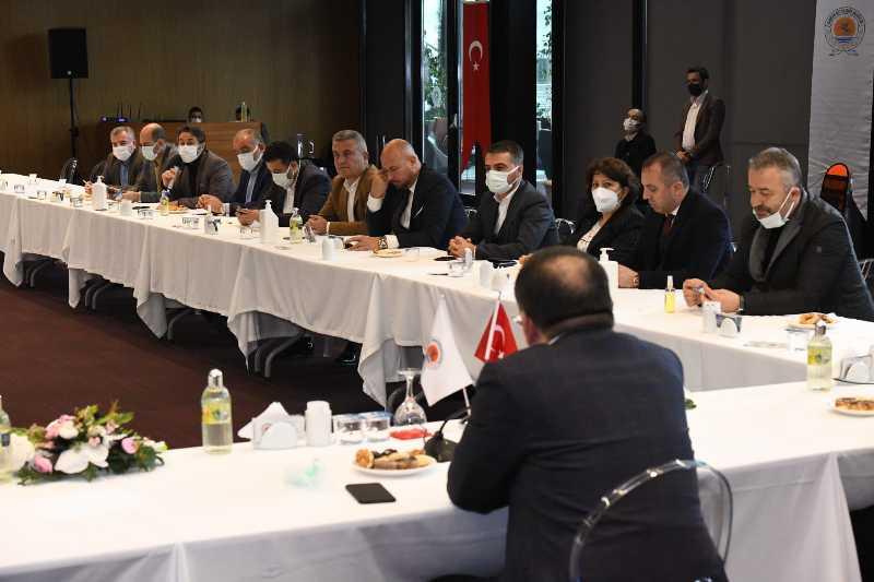 Samsun'da başkanlardan istişare toplantısı