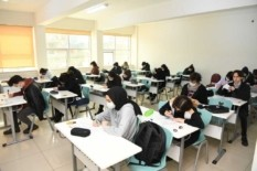 Samsun'da öğrencilere sınav morali