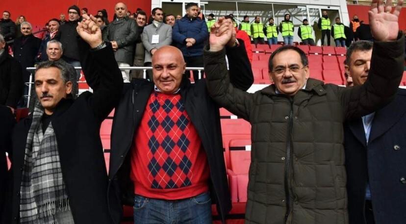 Vekiller ve Başkanlar Samsunspor İçin İzmir'de Olacak