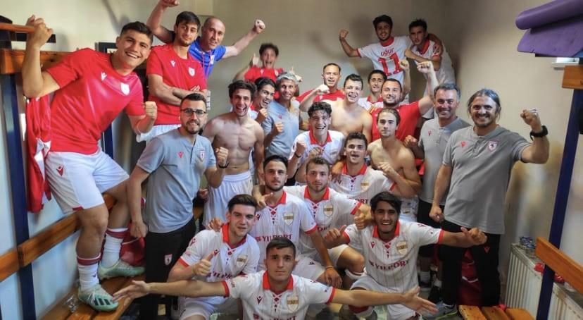 Lider Samsunspor 7 Gollü Süper Galibiyet