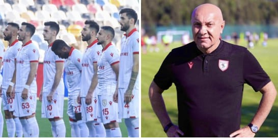 Samsunspor 4 futbolcuyla görüştü