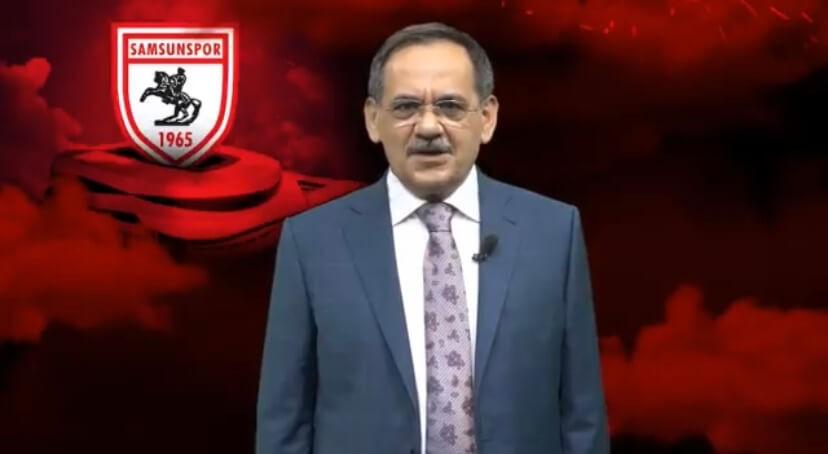 Mustafa Demir'den Samsunspor Mesajı