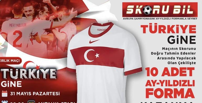 Türkiye-Gine skor tahmini yarışması