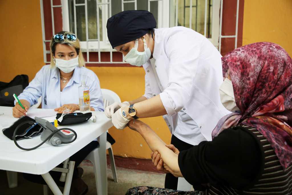 Atakum Belediyesi ile Rotary'den sağlık taraması