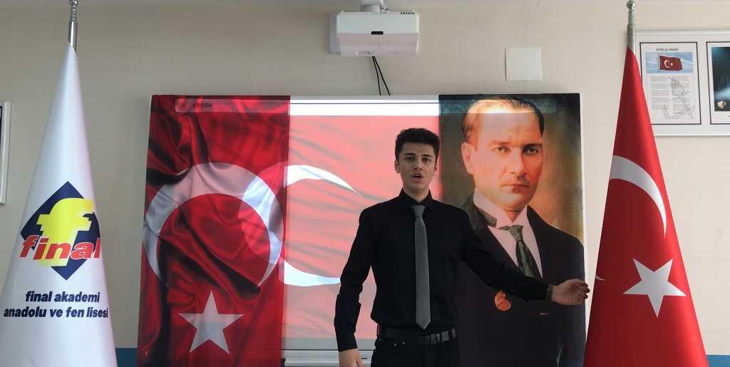 İstiklal Marşını güzel okuma yarışması sonuçlandı
