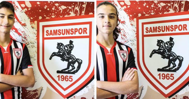Samsunspor'lu Futbolculara Milli Davet