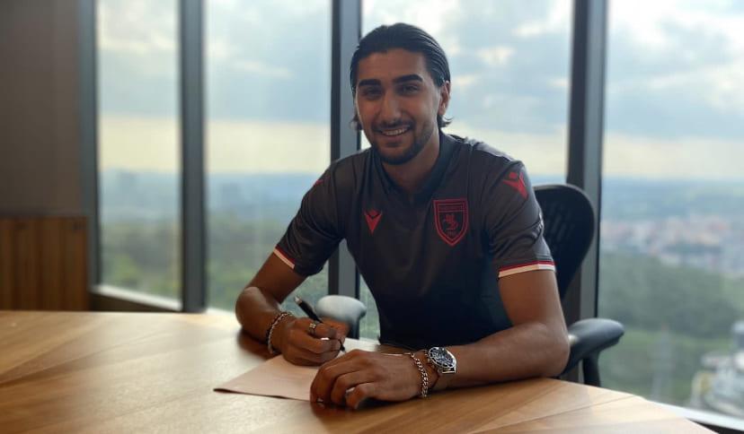 Samsunspor'un yeni transferinden ilk açıklama