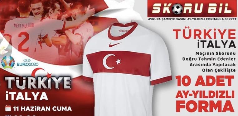 Türkiye-İtalya Skor Tahmini Yarışması