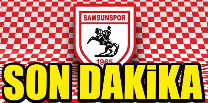Samsunspor golcü oyuncuyla yollarını ayırdı
