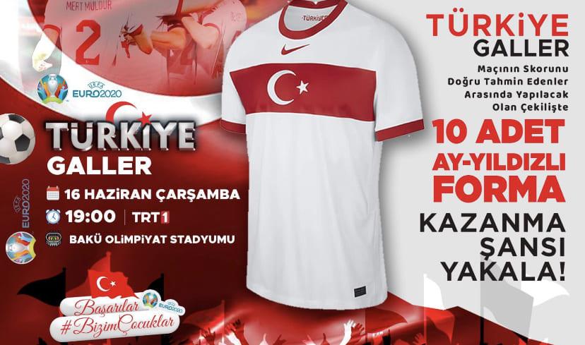 Türkiye-Galler Forma Ödüllü Skor Tahmini Yarışması