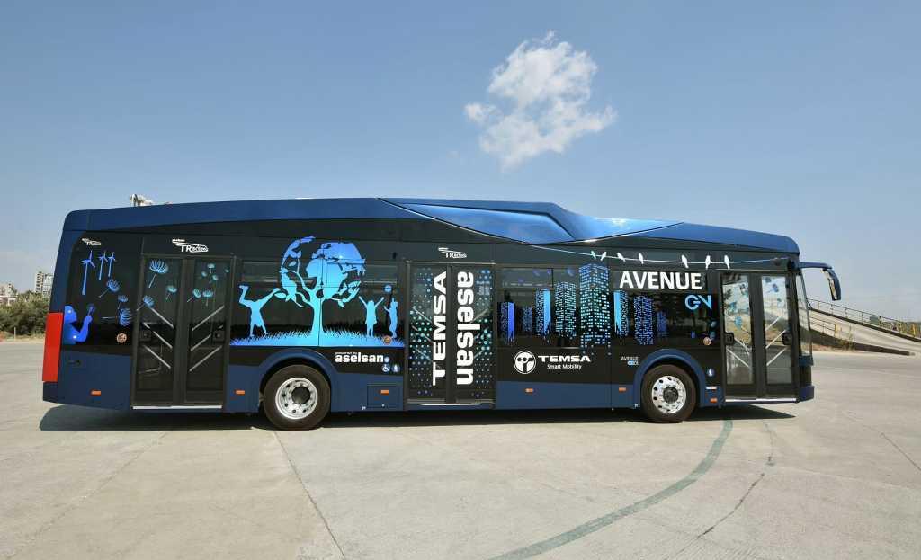 Türkiye'de bir ilk! Samsun'a Elektrikli Otobüsler geliyor