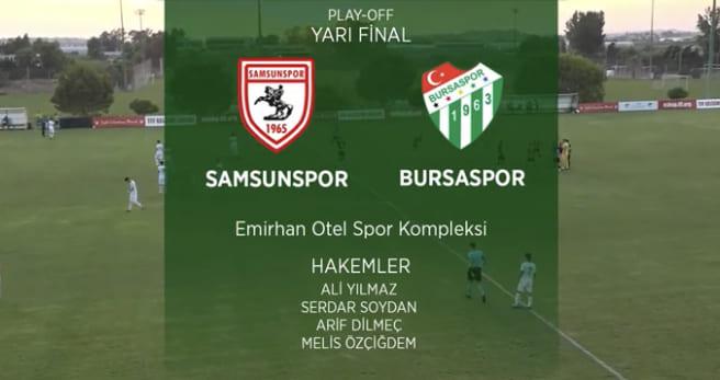Samsunspor-Bursaspor 4-0 Goller