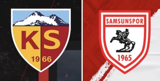 Samsunspor'un İlk Rakibi Kayserispor