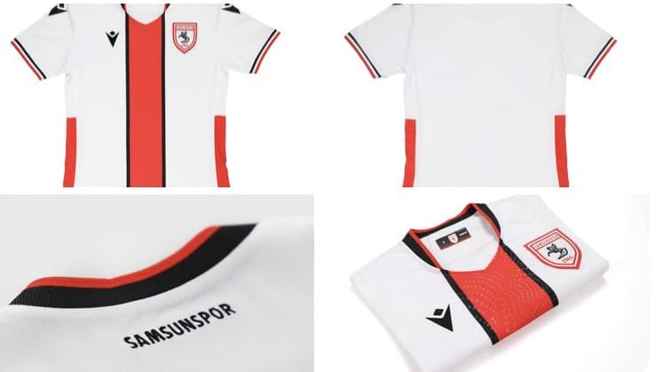 İşte Samsunspor'un Yeni Sezon İlk Forması