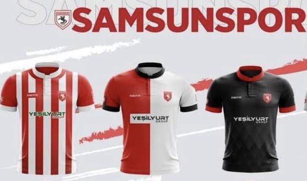 Samsunspor'un Yeni Formaları Efsane Olacak