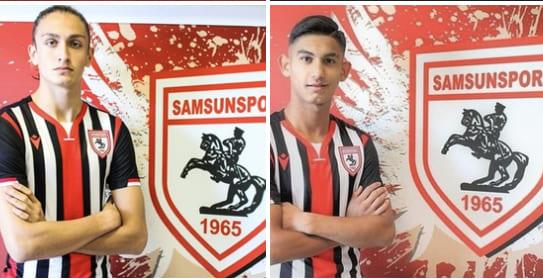 Samsunspor'un 2 Futbolcusu Daha Milli Takımda