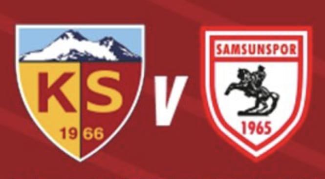 Samsunspor'da Kayserispor Maçında 2 Eksik