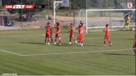 Yılport Samsunspor Ercan Yazıcıyla 1-0 Önde