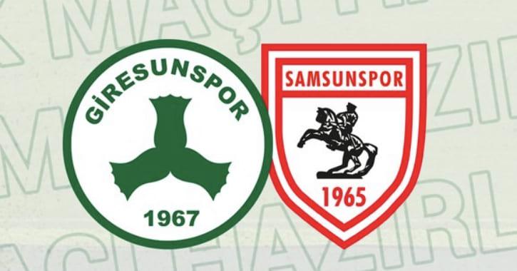 Giresunspor-Samsunspor Maçı Canlı Yayınlanacak