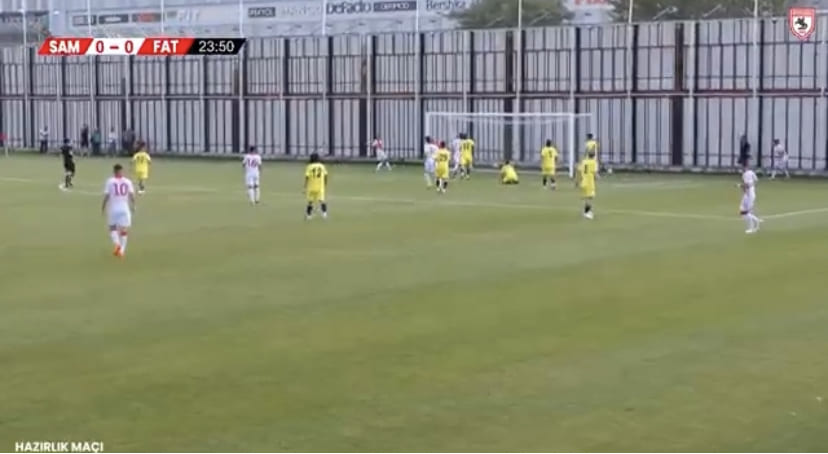 Samsunspor-Fatsa Belediyespor 2-0 Goller