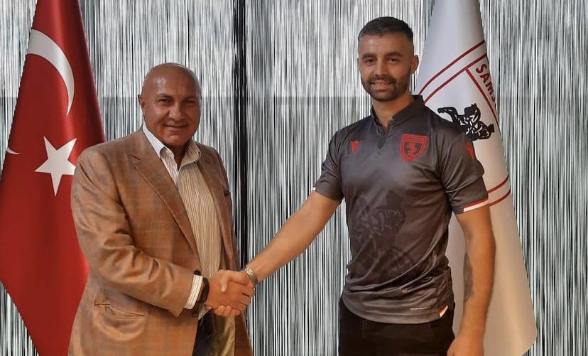 Samsunspor'un Yeni Golcüsü İmzayı Attı