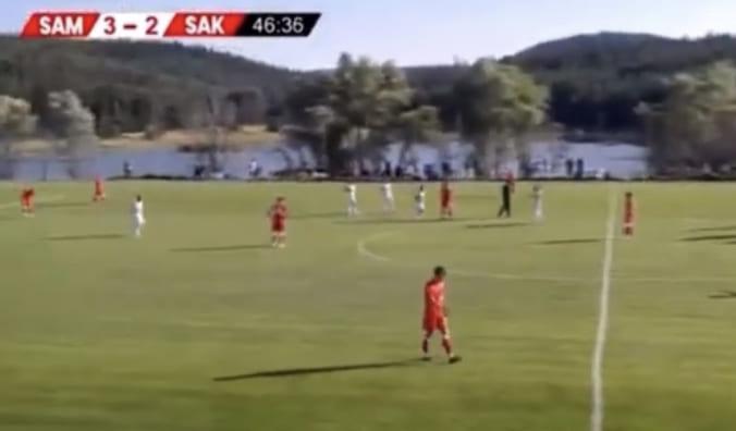 Samsunspor'un Hazırlık Maçı Gollerini İzle