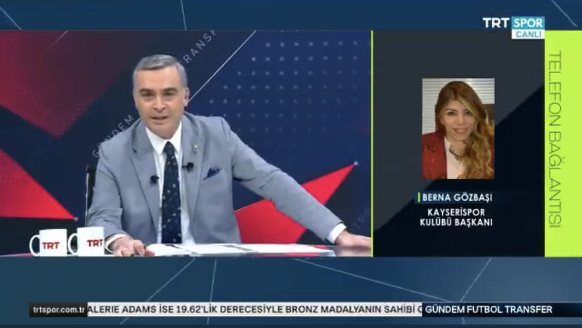 Samsunspor'un Yeni Transferini Canlı Yayında Açıkladı