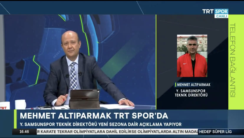 Mehmet Altıparmak'tan Trtspor'a Özel Açıklama