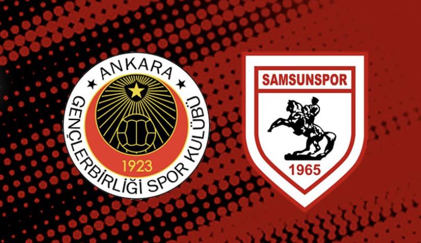 İşte Samsunspor'un Ankara'da ki İlk 11'i