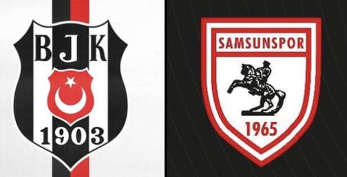 Süper Ligde Beşiktaş 1.Ligde Samsunspor