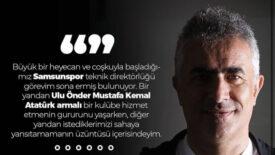Mehmet Altıparmak'tan Veda Açıklaması